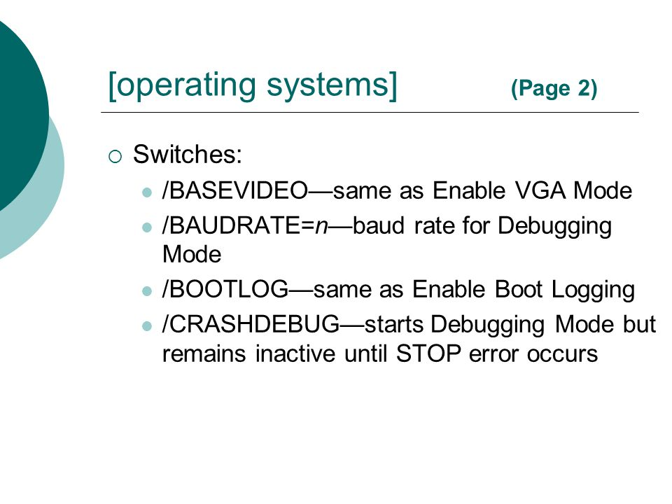 [operating systems] (Page 2)